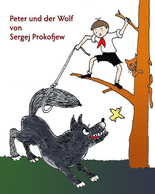 Prokofjew, Sergej - Peter and the Wolf op.67 Arrangement for Flute ...