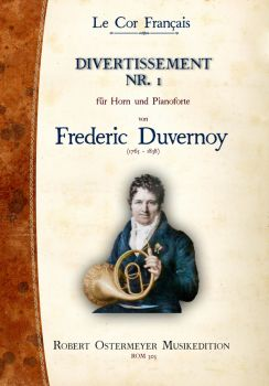 Duvernoy, Frederic - 1. Divertissement for  Piano and Horn