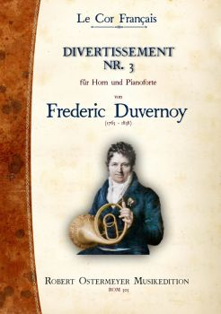 Duvernoy, Frederic - 3. Divertissement for Piano and Horn