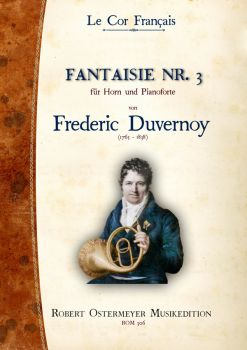 Duvernoy, Frederic - Fantaisie No. 3 for Piano and Horn