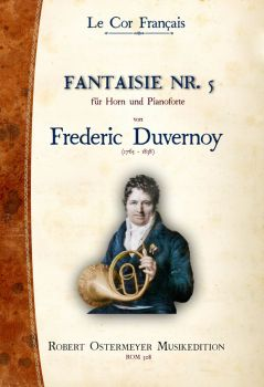 Duvernoy, Frederic - Fantaisie No. 5 for Piano and Horn