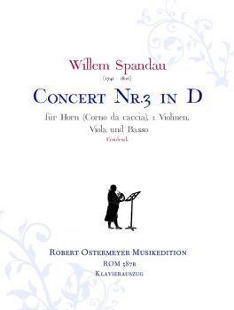 Spandau, Willem - Concerto No.3 D major for Horn