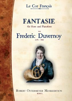 Duvernoy, Frederic - Fantasie for Horn and Piano