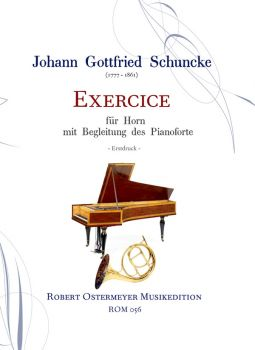 Schuncke, Gottfried - Exercice for Horn and Piano