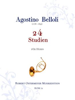 Belloli, Agostino - 24 Studies for Horn