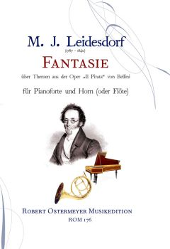 Leidesdorf, M. J. - Fantasie for Horn (or flute) and Piano
