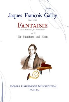 Gallay, Jacques François  - Fantaisie op.34 for Horn and Piano