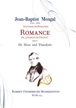 Mengal, J.B. - Souvenir de Boieldieu op.17 for horn and  piano