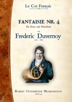 Duvernoy, Frederic - Fantaisie No. 4 for Piano and Horn