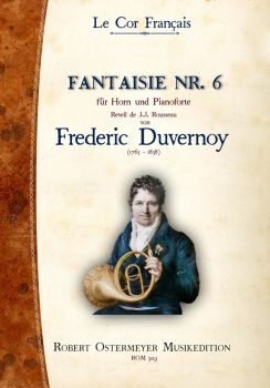 Duvernoy, Frederic - Fantaisie No. 6 for Piano and Horn