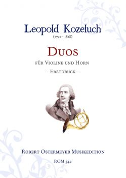 Kozeluch, Leopold - Duos for Violin and Horn