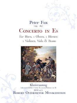 Fux, Peter - Concerto in E flat for Horn