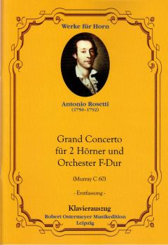 Rosetti, Antonio - RWV C60 Concerto for 2 Horns F major