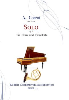 Corret , A.- Solo for Horn & Klavier op.2