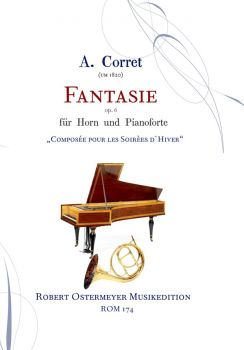 Corret, A. - Fantasie for Horn & Klavier op.6