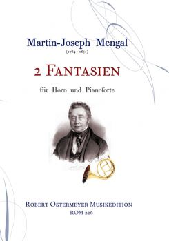 Mengal, Martin Joseph - 2 Fantaisies for horn and piano