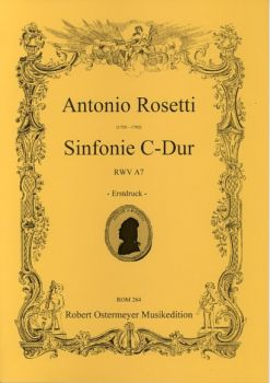 Rosetti, Antonio - Symphony C major   RWV A7
