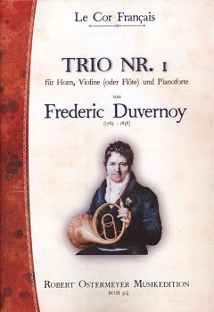 Duvernoy, Frederic - Trio No.1  for Piano, Horn and Violin (or Flute)