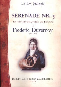 Duvernoy, Frederic - Serenade No. 3 for Piano and Horn