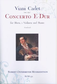 Viani - Concerto E major for horn, 2 violins and Basso