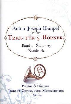 Hampel, Anton - Trios for 3 Horns , Vol. 1 No. 1 - 33