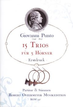 Punto, Giovanni - 15 Trios for 3 Horns