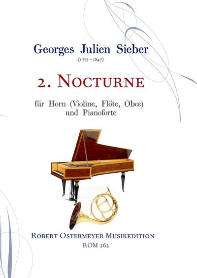 Sieber, Georges Julien - 2. Nocturne for Horn & Piano