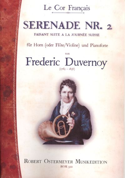 Duvernoy, Frederic - Serenade No. 2 for Piano and Horn